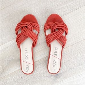 BRAND NEW! Sole Society Dahlia Sandals